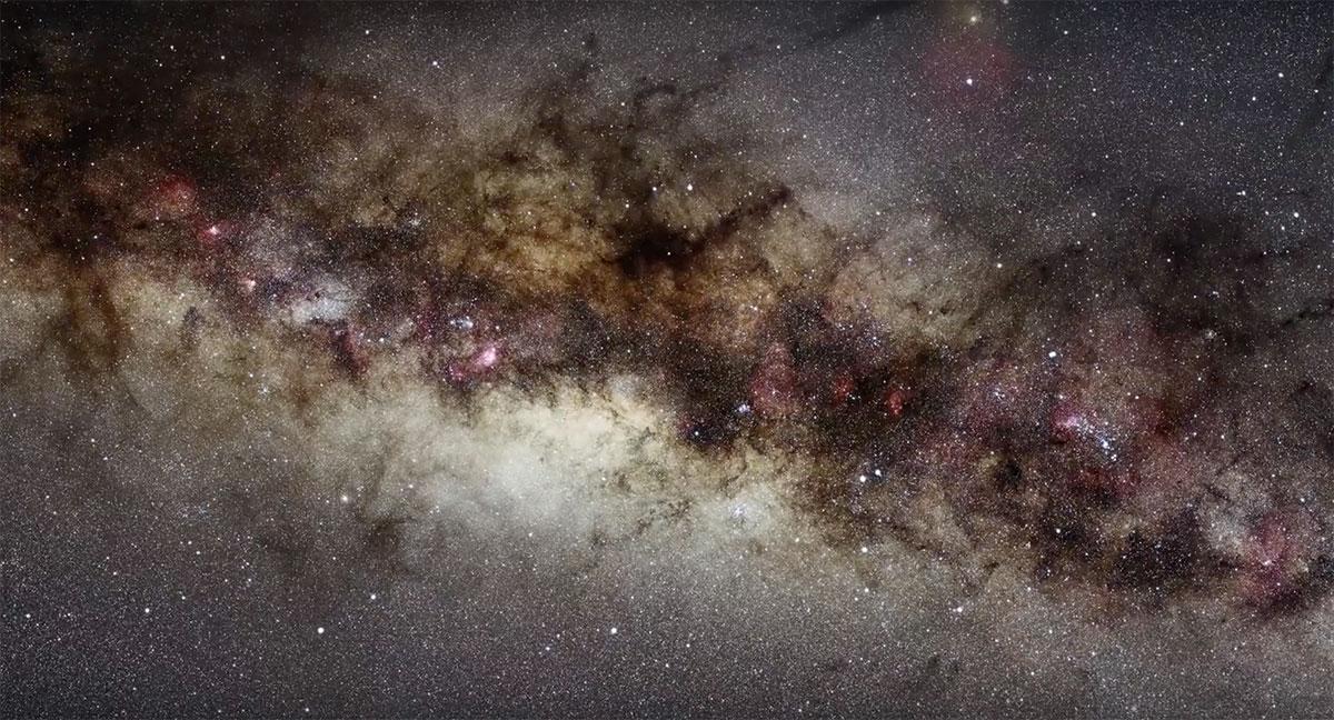 Foto della Via Lattea