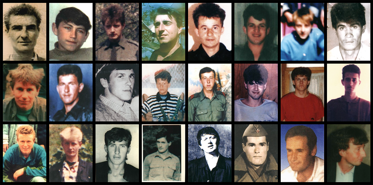 Vittime di Srebrenica