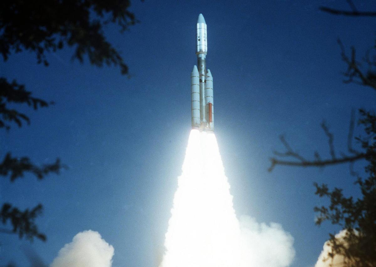 Il lancio della Voyager 2