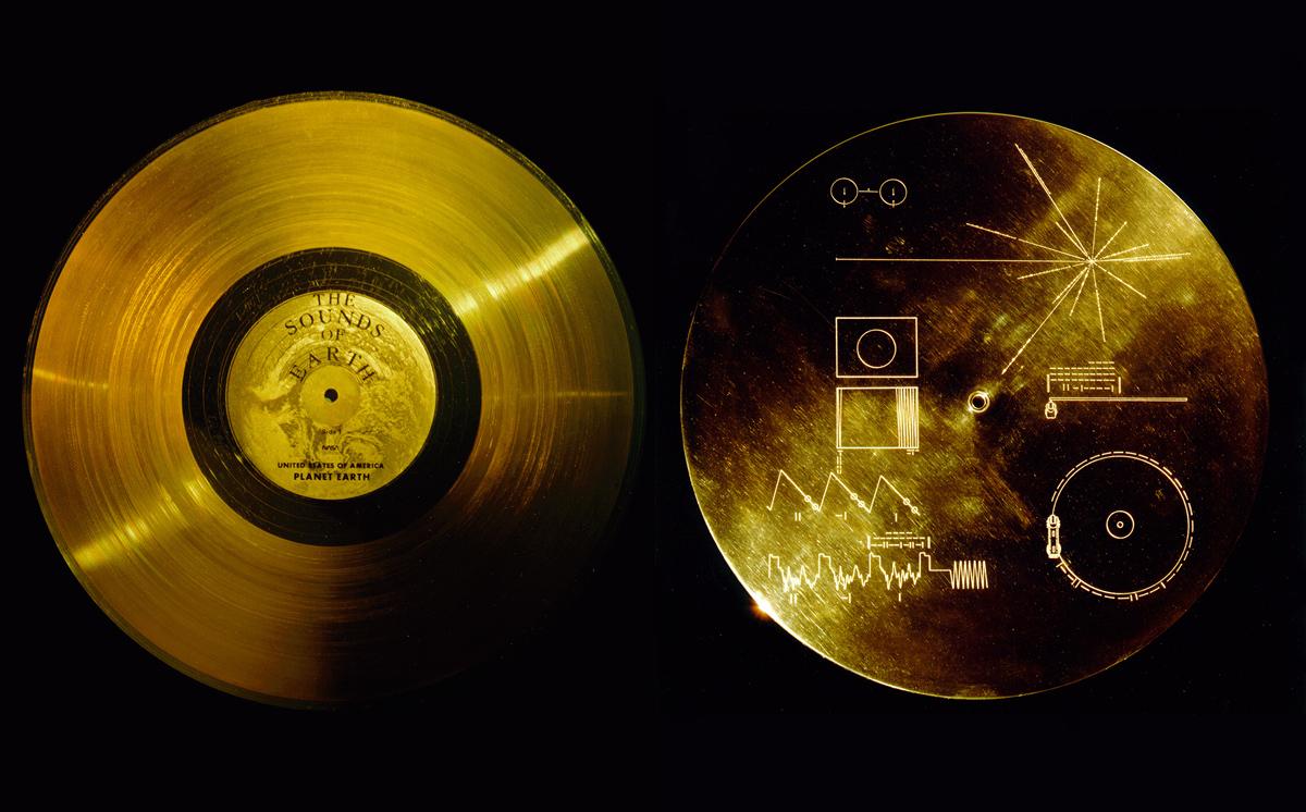 Il Voyager Golden Record a bordo delle sonde Voyager