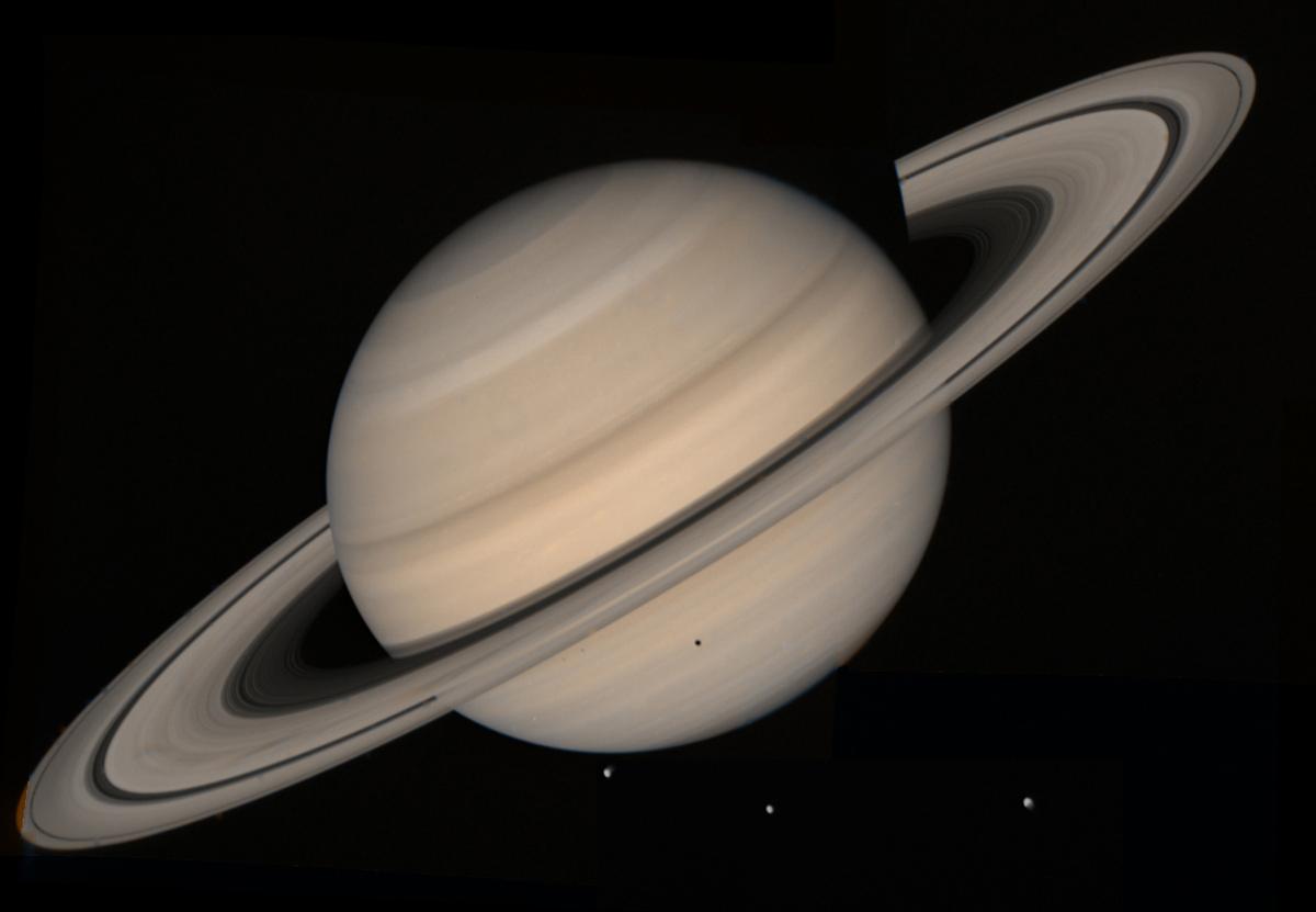 Saturno e le sue lune