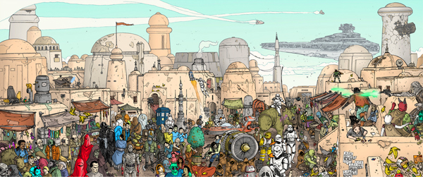 Where's Waldo Star Wars
