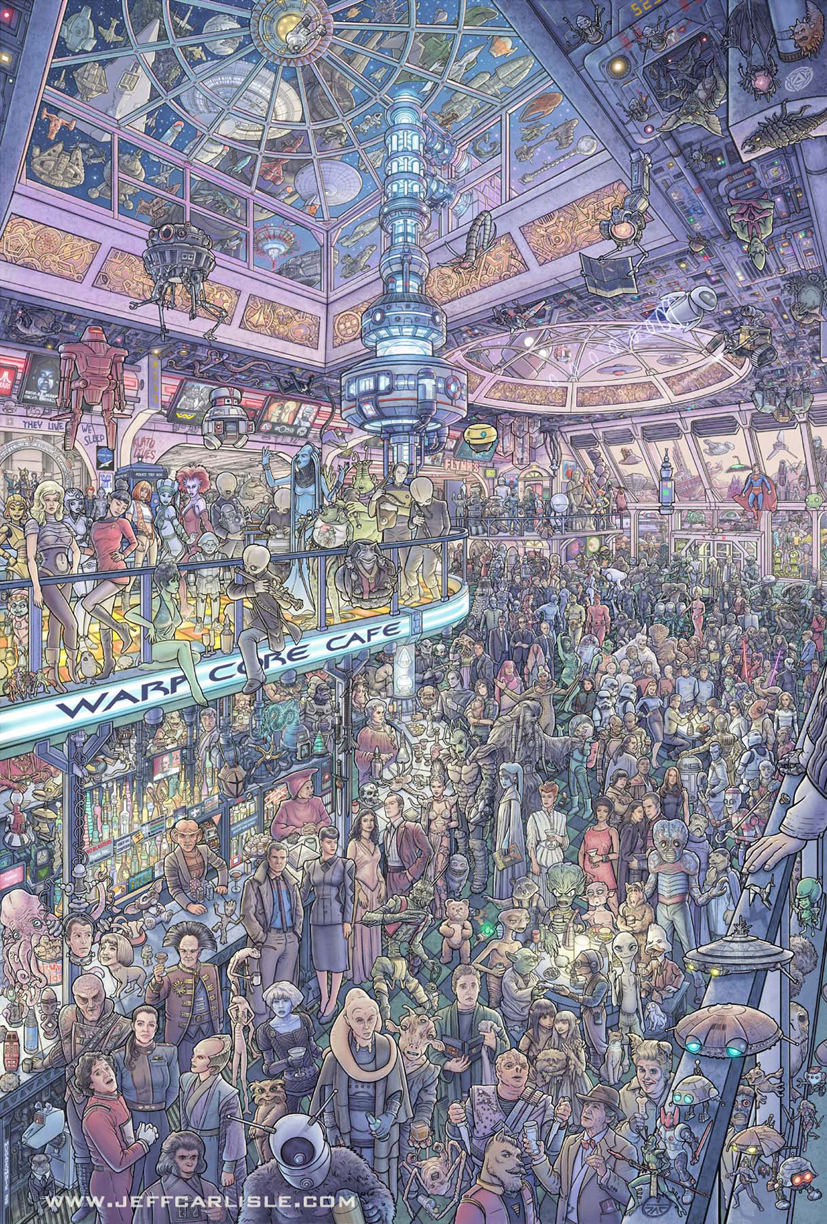 Another Night at the Warp Core Cafe, disegnato da Jeff Carlisle