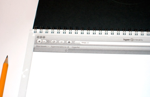 The webdesign sketchbook