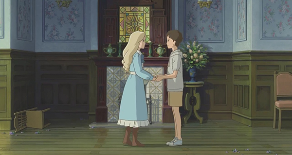 Scena tratta da When Marnie was there