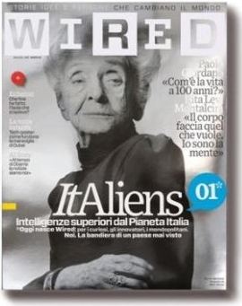 La copertina del primo numero italiano di 'Wired'