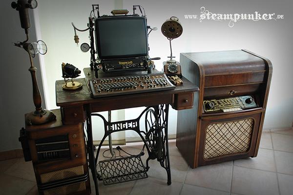 La workstation steampunk