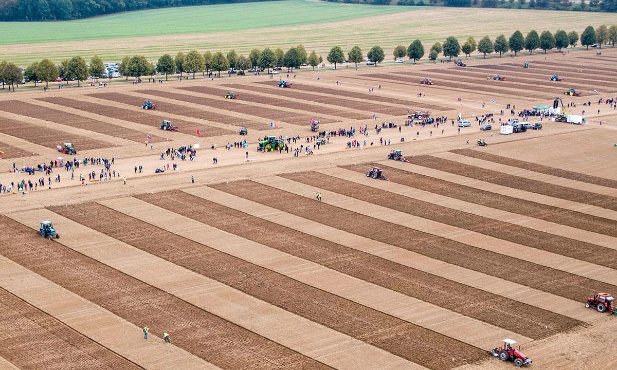 Il campionato mondiale di aratura Germania 2018