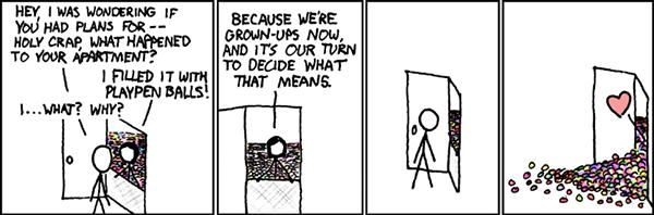 Una striscia di xkcd
