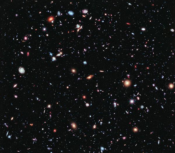 Lo Xtreme Deep Field realizzato da Hubble
