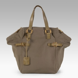 Yves Saint Laurent Downtown Canvas Tote