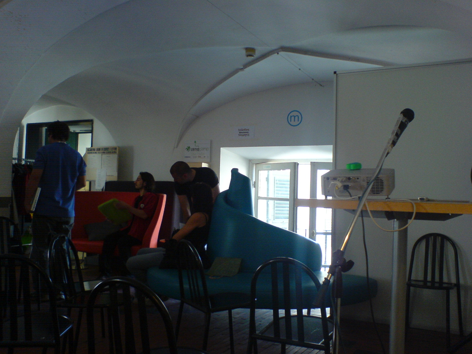 Interni dello ZenaCamp
